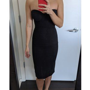 Marciano Dresses - NEW Marciano black corset cocktail dress